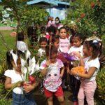 Menores del Centro de Desarrollo Infantil de Siuna depositaron ofrenda floral al Comandante Carlos Fonseca